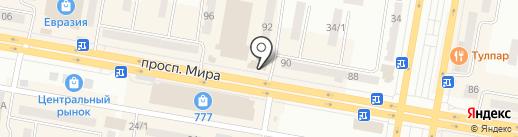 Tempus на карте Темиртау