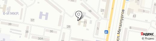 Lady Vertigo на карте Темиртау