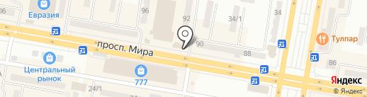 Олимп на карте Темиртау