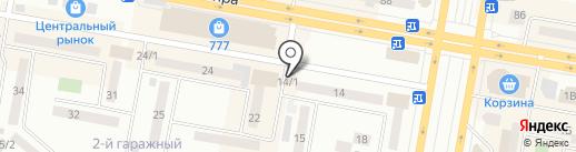 Калумбар на карте Темиртау