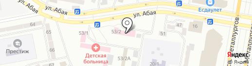 Нурбай и К на карте Темиртау