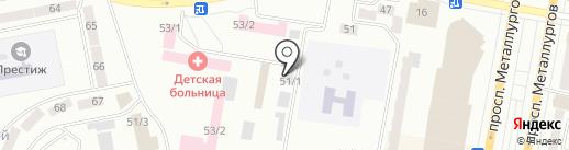 Промгарант на карте Темиртау