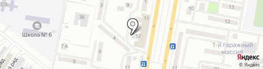 Империя Автоаксессуаров на карте Темиртау