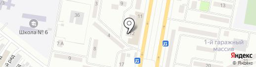 Зайза, ТОО на карте Темиртау
