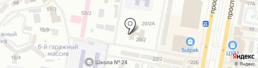 ALIBI на карте Темиртау