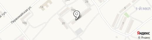 Продовольственный магазин на карте Актаса