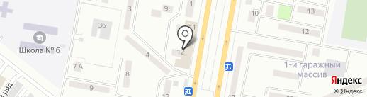 Руслан на карте Темиртау