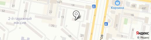Бакдаулет на карте Темиртау