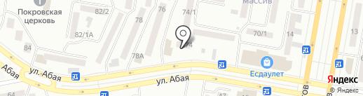 ГАК на карте Темиртау