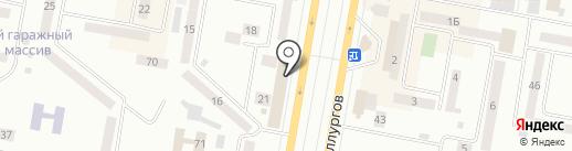 Олимпик на карте Темиртау