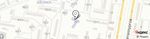 Ясли-сад №14 на карте Темиртау