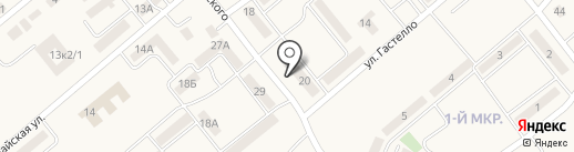 Актас на карте Актаса