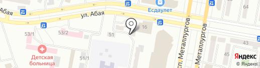 Вера на карте Темиртау