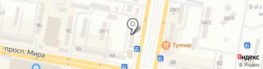 Велдер, ТОО на карте Темиртау