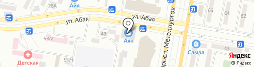 Шолпан на карте Темиртау
