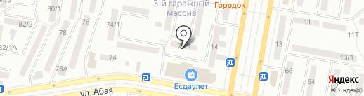 Югра на карте Темиртау