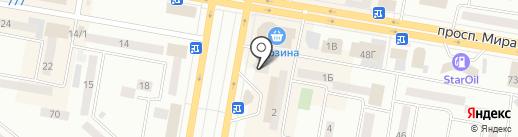 Элсан на карте Темиртау