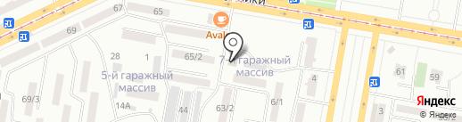English club на карте Темиртау