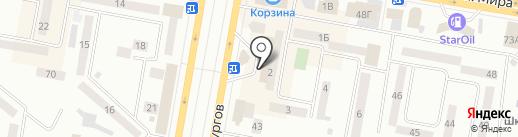 Хобби шик на карте Темиртау