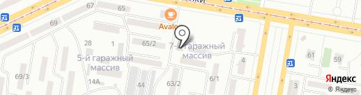Юридический кабинет на карте Темиртау