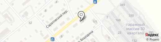 Автосервис на карте Актаса