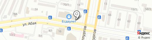 Гранд на карте Темиртау