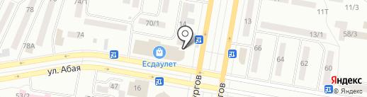 Выгода, ТОО на карте Темиртау