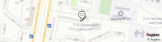 TEUS, ТОО на карте Темиртау