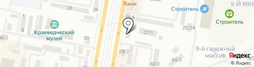 Standard, АО на карте Темиртау