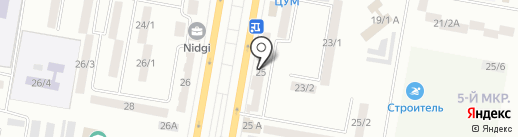 Samannа на карте Темиртау