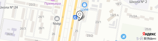 Астра, ТОО на карте Темиртау