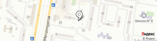 Лейла на карте Темиртау