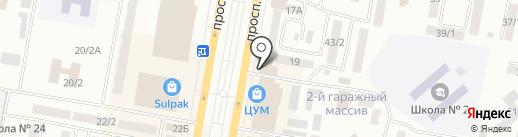 Белый Ветер KZ на карте Темиртау