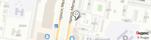 Флер на карте Темиртау