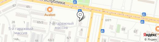Центр Инструмент на карте Темиртау
