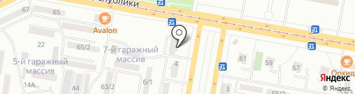 На крючке на карте Темиртау