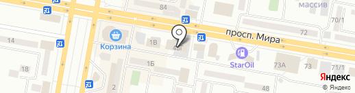 Банкомат, АльянсБанк на карте Темиртау