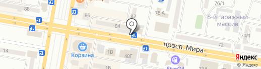 Сары Арка на карте Темиртау