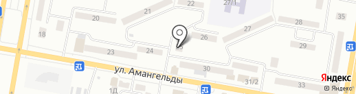 Галакс на карте Темиртау