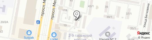 Prais на карте Темиртау
