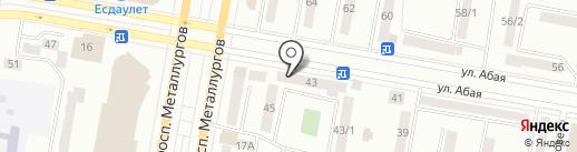 Молодежный центр здоровья г. Темиртау на карте Темиртау