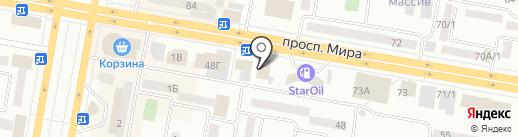 Kristy на карте Темиртау