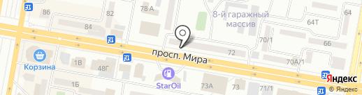 Maraffet на карте Темиртау