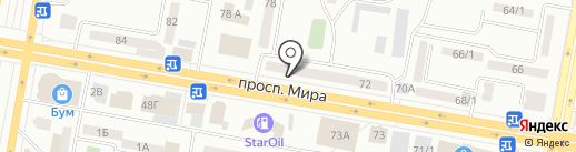 Чародейка на карте Темиртау