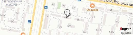 Арго на карте Темиртау