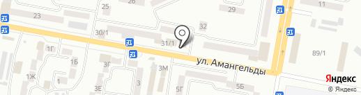 Швейная марка, ТОО на карте Темиртау