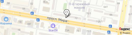 Gold dragon на карте Темиртау