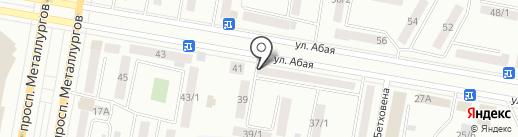 Платежный терминал, Kaspi bank на карте Темиртау