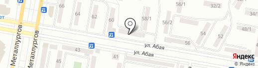 Магазин канцтоваров на ул. Димитрова на карте Темиртау