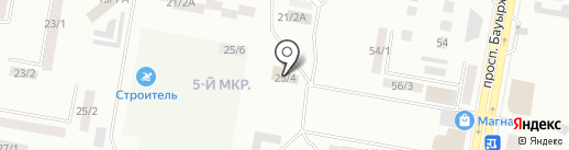 Престиж-2 на карте Темиртау